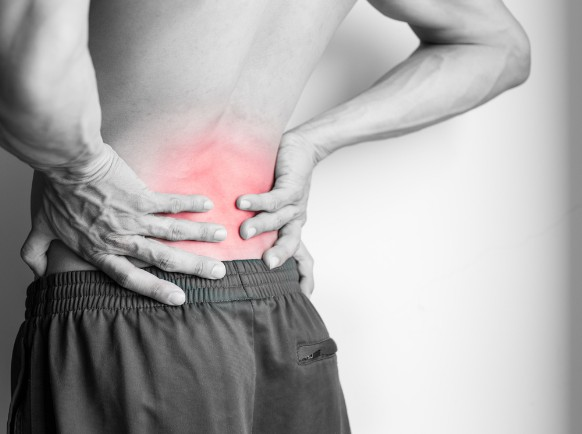 Back pain can come on without warning - Acupuncture can provide relief